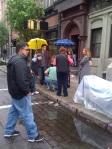 Josh Radnor. Yellow Umbrella. Eeeek!?