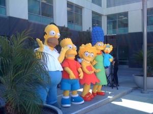 """Homer pulling an """"SK"""" (shrugging)"""